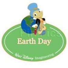 Disney Pin 68901 Wdi Name Tag Jiminy Cricket Earth Day Pinocchio Cast Le *
