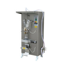 50-500ml Sanitizer Bag Filling Sealing Machine Water Pouch Packing Machine