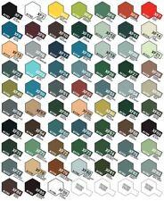 Tamiya Acrylic Flat Model Paint Mini 1/3oz (10ml) XF1-XF86 Choose Your Color
