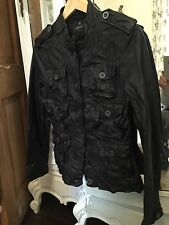 All Saints Leather Jacket Size 12