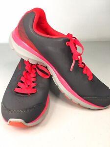 FILA Womens Pink Grey S-Wave Shoes Size 7.5 AU