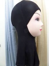 Hijab Styling Full Cover Under Scarf Ninja Inner Neck Chest Plain Hat Cap Bonnet