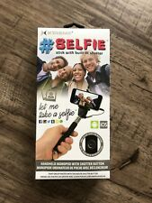 Xtreme Selfie Stick With Built In Shutter Button