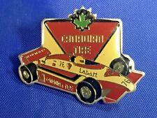 Indianapolis Indy 500 1982 JACQUES VILLENEUVE SR Canadian Tire SUITE/VIP Pin
