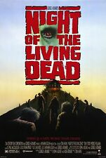 NIGHT OF THE LIVING DEAD (1990) ORIGINAL MOVIE POSTER  -  ROLLED
