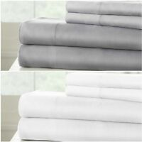 Sterling Creek Silky Soft 100% Bamboo Viscose Bed Sheet Set or Pillowcase Set