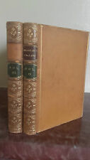 1889 THE HISTORY OF ENGLAND 2 TOMES L.MACAULAY CHEZ LONGMANS LONDON TR.JASPEES