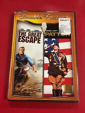 The Great Escape / Patton Double Feature (Dvd) Brand New Sealed L@K