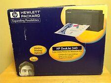 HP Deskjet 340 Portable Inkjet Printer w/ Extras - Brand New