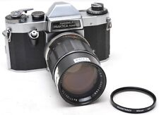 * Hanimex Praktica Nova IB SLR Camera w/ Soligor Tele-auto 135 mm