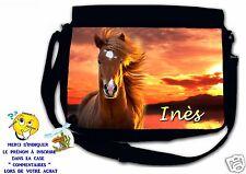 Sac bandoulière moyen modèle cheval chevaux réf 75 personnalisé avec prénom