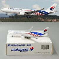 •• SALE •• Malaysia Airlines A330-200 Reg: 9M-MTX JC Wings 1:400 Diecast Models