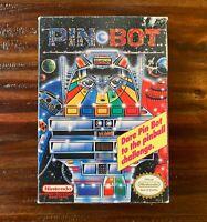 Nintendo Pinbot Pin Bot Original Empty Game Box Only NES Pinball Rev-A