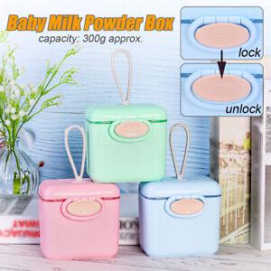 Baby Formula Container Infants Milk Powder Dispenser Feeding Box Snacks storage