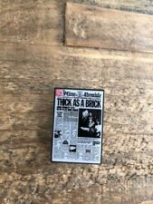 Jethro Tull - Enamel Pin - Thick As A Brick  - Yes - Traffic - King Crimson