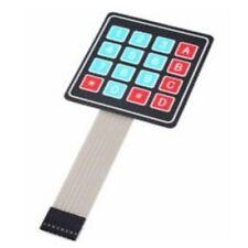 4x4 16Key Matrix 4X4 matrix Membrane Keypad Electronic Self Adhesive PI UK  A604