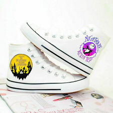 The Nightmare Before Christmas Women's Canvas Shoes Skull Jack Casual Men Shoes