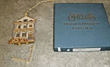 Shelia Shelia's House Ornament in Box Stockton Row