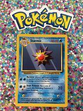 �� Classic Base Set Pokemon Card Starmie Wizards WotC Nintendo GameFreak 1999 �