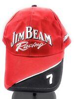 Jim Beam Racing Robby Gordon Motorsports NASCAR Red Black Strapback Cap Hat