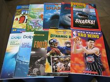 Lot of 10 Children's  Books Non-Fiction