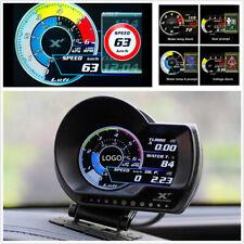 Car Dash Multi-function OBD2 Boost Gauge/Temp Gauge/Code Scanner/Shift indicator