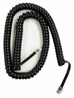 Black 12 FT Handset Cord For- Cisco IP phones