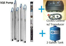 "Grundfos 3"" Constant Pressure Submersible Well Pump 15SQE15 290 1.5HP CU301 KIT"