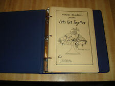 Awesome Dublin CA 1977 Cookbook - Women's Ministries presents Let's Get Together