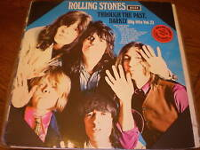 Rolling Stones LP Through The Past Darkly GREEN HOLLAND
