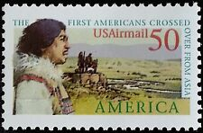 1991 50c Pre-Columbian, First Americans Scott C131 Mint F/VF NH