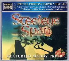 STEELEYE SPAN BEDROCK IN CONCERT CD + DVD SPACIAL ED. SIGILLATO!!!