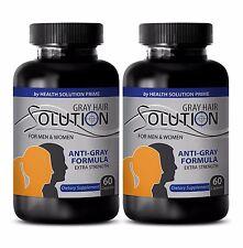 PABA - ANTI GRAY HAIR DIETARY SUPPLEMENT - B6 vitamins - 2B