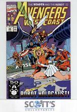 AVENGERS WEST COAST  #68  VF+