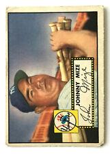 1952 Topps Baseball Card • Johnny Mize • #129