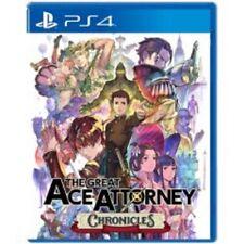 El gran Ace Attorney crónicas Ps4 ENG/Asia