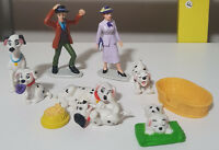 DISNEY 101 DALMATIANS FIGURINES! ROGER ABOUT 7CM TALL KIDS TOY! ANITA PUPPIES
