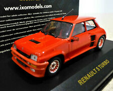 1/43 IXO 1:43 Renault 5 Turbo 1982 in red   Excellent and boxed. CLC009.