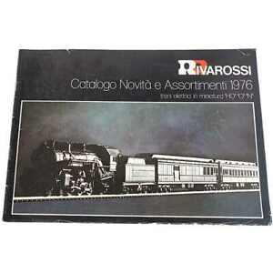 Rivarossi catalogo Novità Listino prezzi incluso - 1976