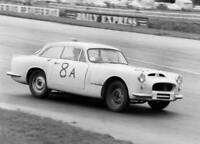 MOTOR RACING OLD PHOTO Warwick Gt S Hill At Silverstone 1961
