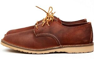 Red Wing Weekender Oxford # 3306 Red Maple Muleskinner Leather Men SZ 8 - 12