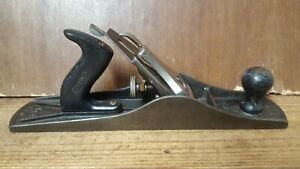 Vintage Stanley Bailey No 5-1/2 Wood Plane, Made in England, Rare