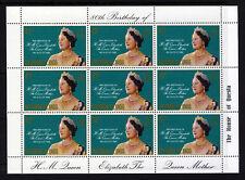 SOLOMON ISLANDS QE II 1980 Queen Mother 80th Birthday Mini-Sheet SG 421 MNH