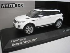 Range Rover DESPERTAR Coupé 2011 Blanco 1/43 WHITEBOX wb227 NUEVO