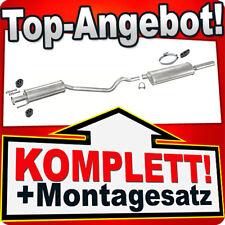 Auspuff OPEL ASTRA F 1.4 1.6 2.0 Cabrio Cabriolet 1993-2000 Auspuffanlage 960