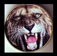 ● GROSSE MEDAILLE / MONNAIE PLAQUE OR : TIGRE ●