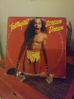 Original Ted Nugent-Sream Dream Vinyl LP (1980), Epic Catalog# FE 36404 VG/VG+