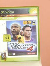 Pro Evolution Soccer 4 for Microsoft Xbox