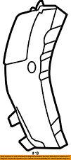 CHRYSLER OEM 01-10 PT Cruiser Fender-Rear Shield Right 5027678AB