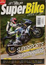 Super Bike UK Supersports vs Supernakeds First Ride Ariel Ace Oct 2014 FREE SHIP